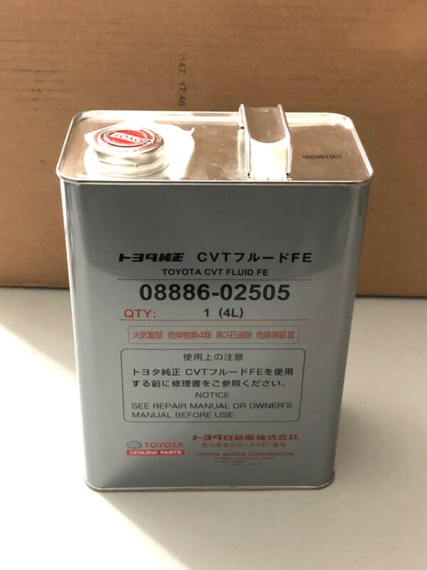 Toyota CVT Fluid FE - 3
