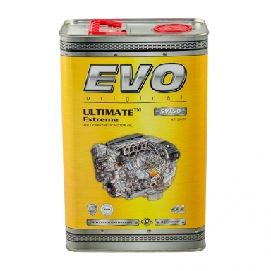 Моторное масло EVO ULTIMATE Extreme 5W50 4л - 8437
