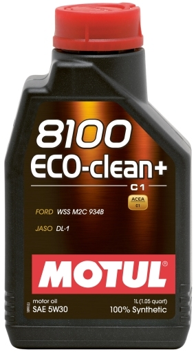 Motul 8100 Eco-clean+ 5W-30 - 1637