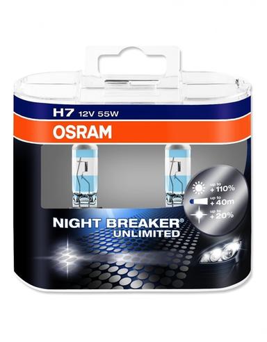 osram h7 night breaker unlimited 12v 55w. Black Bedroom Furniture Sets. Home Design Ideas