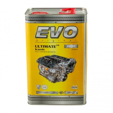 Моторное масло EVO ULTIMATE Iconic 0W40 4л - 8441