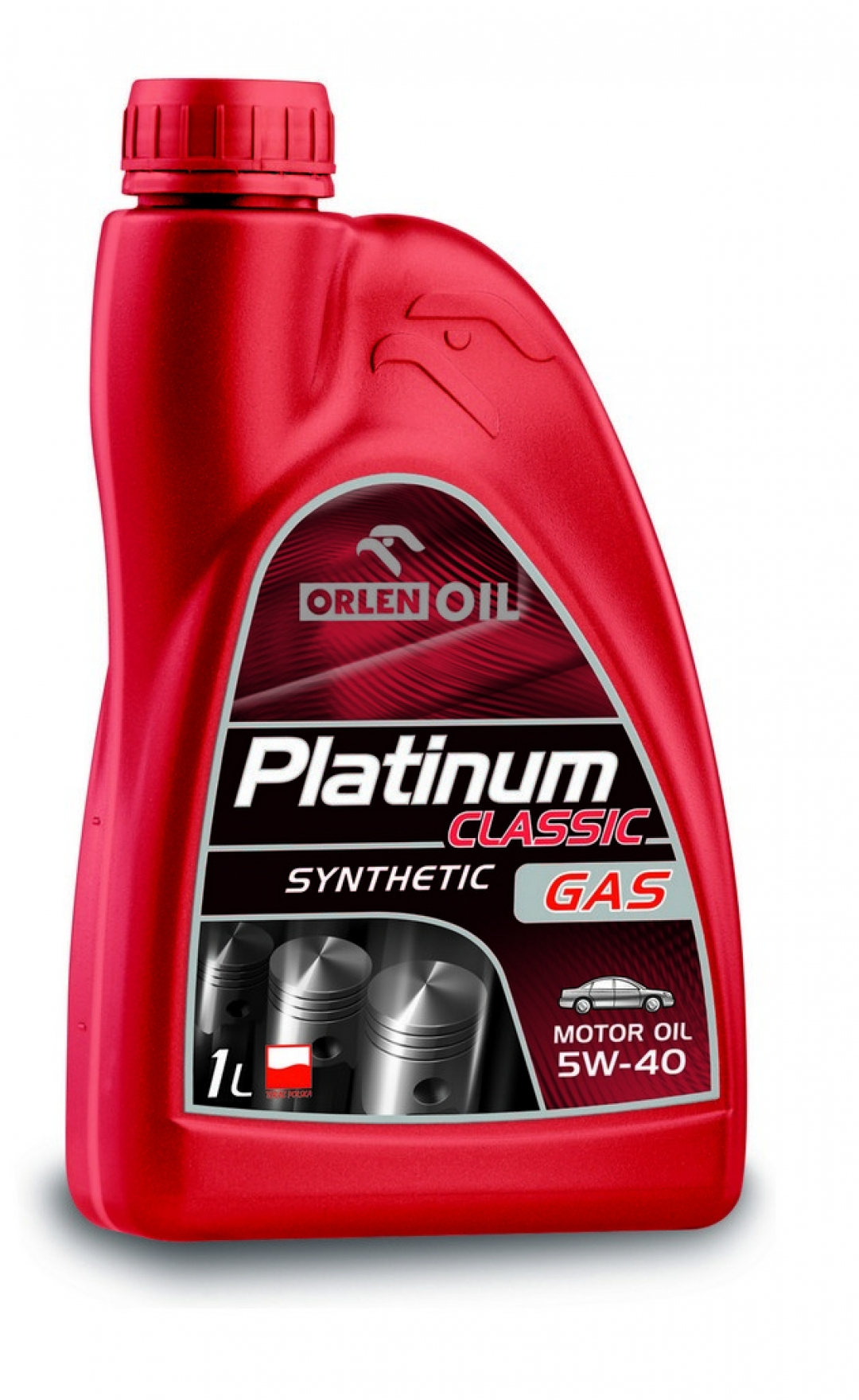 Моторное масло ORLEN PLATINUM CLASSIC GAS SYNTHETIC 5W-40 1л - 8397