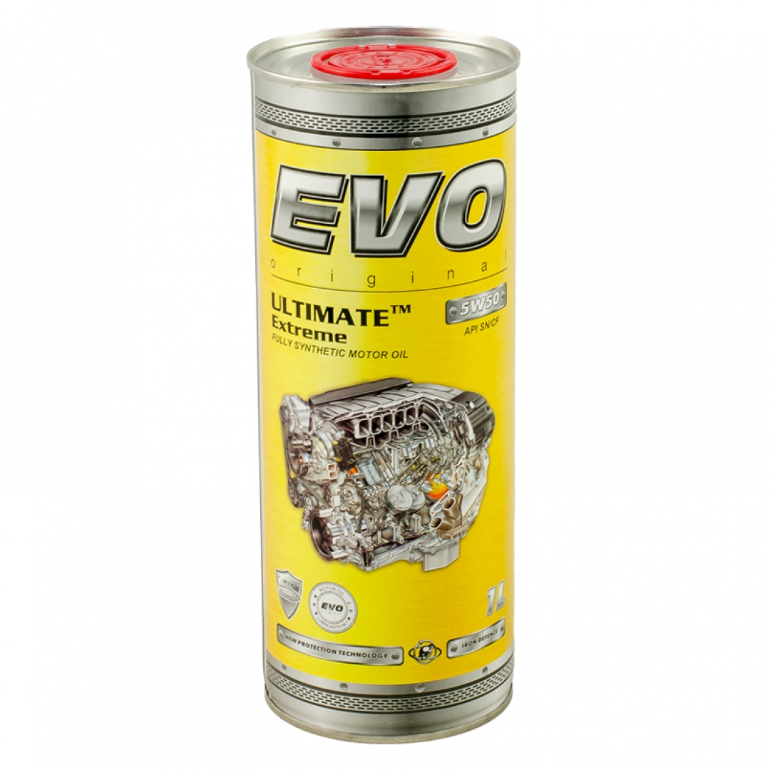 Моторное масло EVO ULTIMATE Extreme 5W50 1л - 8436