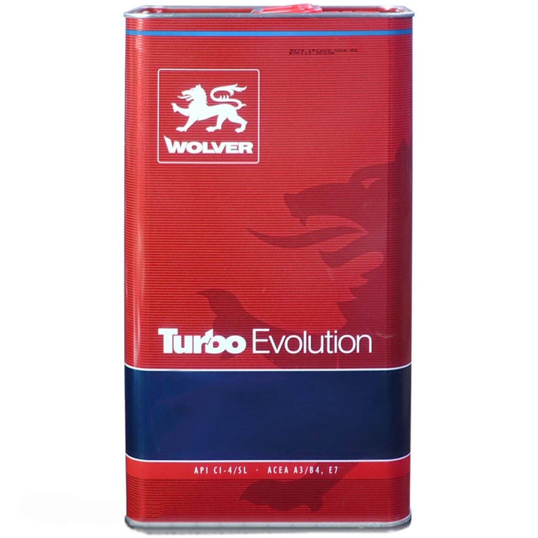 Wolver Turbo Evolution 10W-40  - 3163